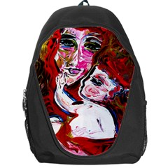 Dscf1554   Madonna And Child Backpack Bag by bestdesignintheworld