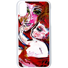 Dscf1554 - Madonna And Child Apple Iphone X Seamless Case (white) by bestdesignintheworld
