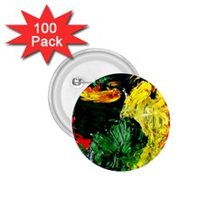 Tigers Lillies 1 75  Buttons (100 Pack)