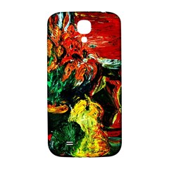 Pumpkins, Lamp And Tiger Lillies Samsung Galaxy S4 I9500/i9505  Hardshell Back Case by bestdesignintheworld
