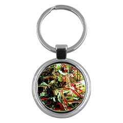 Girl Reading Key Chains (round)  by bestdesignintheworld