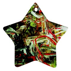 Girl Reading Star Ornament (two Sides) by bestdesignintheworld
