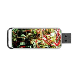 Girl Reading Portable Usb Flash (one Side) by bestdesignintheworld