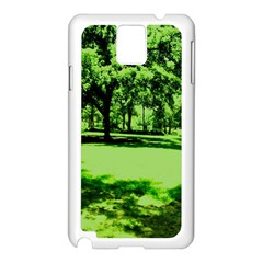 Lake Park 13 Samsung Galaxy Note 3 N9005 Case (white) by bestdesignintheworld