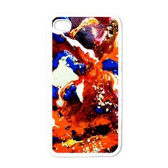 Smashed Butterfly 1 Apple Iphone 4 Case (white) by bestdesignintheworld