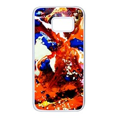 Smashed Butterfly 1 Samsung Galaxy S7 White Seamless Case by bestdesignintheworld