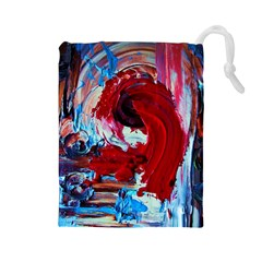 Dscf2258   Point Of View1/1 Drawstring Pouches (large)  by bestdesignintheworld