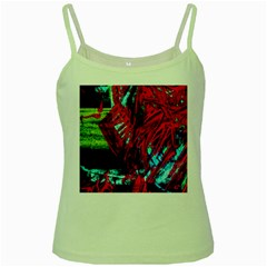 Japaneese Green Spaghetti Tank by bestdesignintheworld