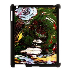 Weed Tumbler And Blue Rose Apple Ipad 3/4 Case (black) by bestdesignintheworld