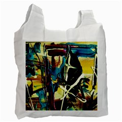 Dance Of Oil Towers 2 Recycle Bag (one Side) by bestdesignintheworld