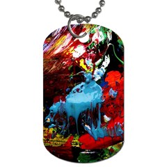 Two Hearts   One Beat 1 Dog Tag (two Sides) by bestdesignintheworld