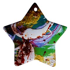Doves Matchmaking 11 Star Ornament (two Sides) by bestdesignintheworld