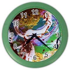Doves Matchmaking 11 Color Wall Clocks by bestdesignintheworld