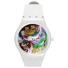 Doves Matchmaking 11 Round Plastic Sport Watch (m) by bestdesignintheworld