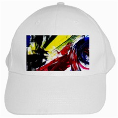 Lets Forget The Black Squere 2 White Cap by bestdesignintheworld