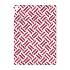 Woven2 White Marble & Red Denim (r) Apple Ipad Pro 10 5   Hardshell Case by trendistuff