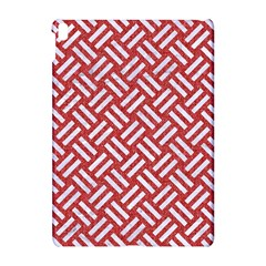 Woven2 White Marble & Red Denim Apple Ipad Pro 10 5   Hardshell Case by trendistuff