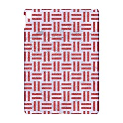 Woven1 White Marble & Red Denim (r) Apple Ipad Pro 10 5   Hardshell Case by trendistuff