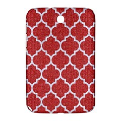 Tile1 White Marble & Red Denim Samsung Galaxy Note 8 0 N5100 Hardshell Case  by trendistuff
