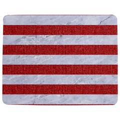 Stripes2white Marble & Red Denim Jigsaw Puzzle Photo Stand (rectangular) by trendistuff