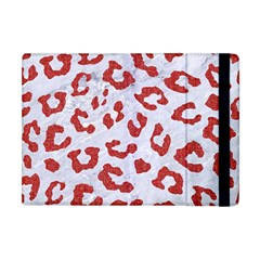 Skin5 White Marble & Red Denim Apple Ipad Mini Flip Case