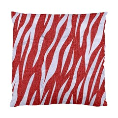 Skin3 White Marble & Red Denim Standard Cushion Case (two Sides) by trendistuff
