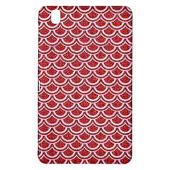 Scales2 White Marble & Red Denim Samsung Galaxy Tab Pro 8 4 Hardshell Case by trendistuff