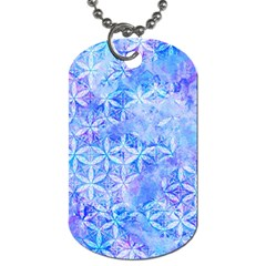Flower Of Life Paint Pattern 8jpg Dog Tag (two Sides) by Cveti
