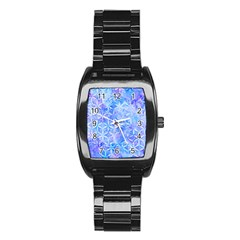 Flower Of Life Paint Pattern 8jpg Stainless Steel Barrel Watch by Cveti