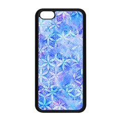 Flower Of Life Paint Pattern 8jpg Apple Iphone 5c Seamless Case (black) by Cveti