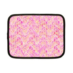 Flower Of Life Paint Pattern 9 Netbook Case (small)  by Cveti