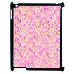 Flower Of Life Paint Pattern 9 Apple Ipad 2 Case (black) by Cveti