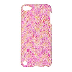 Flower Of Life Paint Pattern 9 Apple Ipod Touch 5 Hardshell Case by Cveti