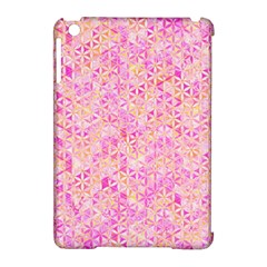 Flower Of Life Paint Pattern 9 Apple Ipad Mini Hardshell Case (compatible With Smart Cover) by Cveti