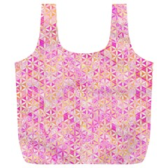 Flower Of Life Paint Pattern 9 Full Print Recycle Bags (l)  by Cveti