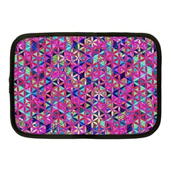 Flower Of Life Paint Pattern 10 Netbook Case (medium)  by Cveti