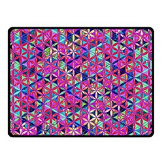 Flower Of Life Paint Pattern 10 Fleece Blanket (small) by Cveti