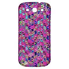 Flower Of Life Paint Pattern 10 Samsung Galaxy S3 S Iii Classic Hardshell Back Case by Cveti