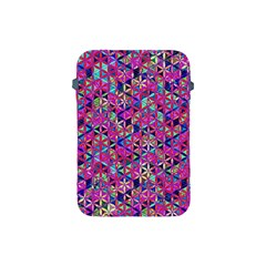 Flower Of Life Paint Pattern 10 Apple Ipad Mini Protective Soft Cases by Cveti