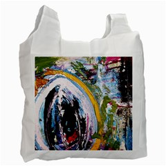 When The Egg Matters Most 4 Recycle Bag (two Side)  by bestdesignintheworld
