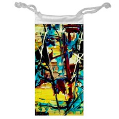 Dance Of Oil Towers 4 Jewelry Bag by bestdesignintheworld