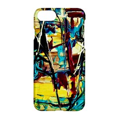 Dance Of Oil Towers 4 Apple Iphone 8 Hardshell Case