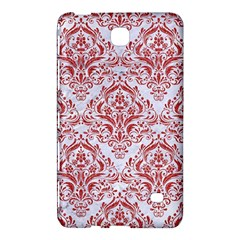 Damask1 White Marble & Red Denim (r) Samsung Galaxy Tab 4 (7 ) Hardshell Case  by trendistuff