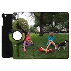 19688418 10155446220129417 1027902896 O   Walking With Daughter And Dog Apple Ipad Mini Flip 360 Case by bestdesignintheworld