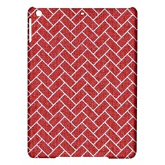 Brick2 White Marble & Red Denim Ipad Air Hardshell Cases by trendistuff