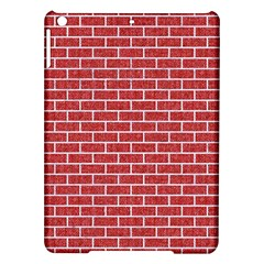 Brick1 White Marble & Red Denim Ipad Air Hardshell Cases by trendistuff