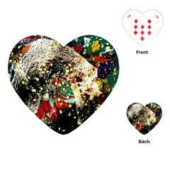 Wet Kiss 2 Playing Cards (heart)  by bestdesignintheworld