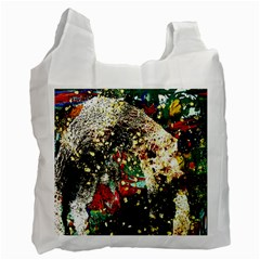 Wet Kiss 2 Recycle Bag (one Side) by bestdesignintheworld