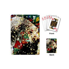 Wet Kiss 2 Playing Cards (mini)  by bestdesignintheworld