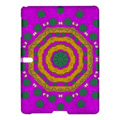 Peacock Flowers Ornate Decorative Happiness Samsung Galaxy Tab S (10 5 ) Hardshell Case  by pepitasart